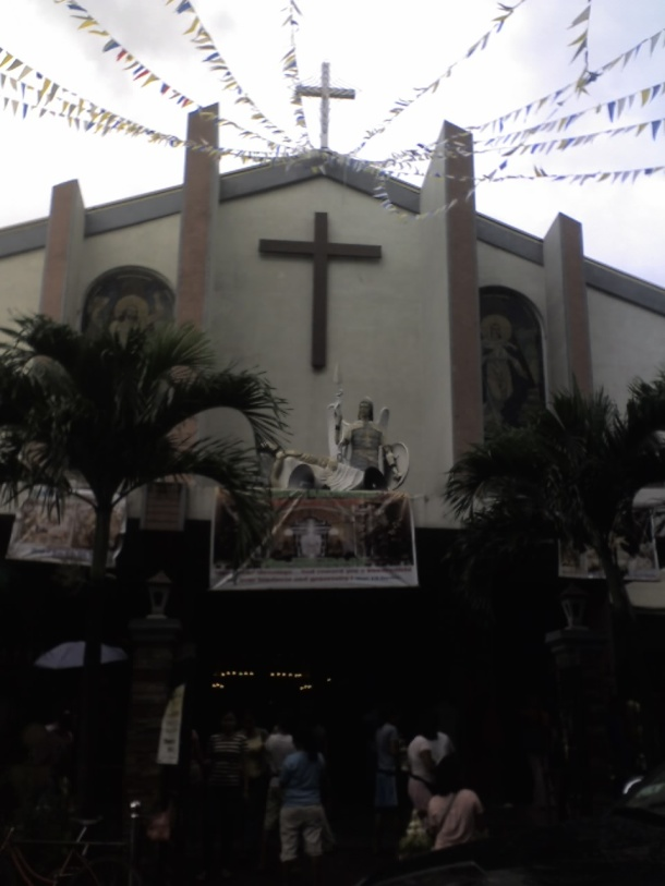The Shrine of Jesus Christ in the Holy Sepulchre, Landayan, San Pedro, La Laguna.