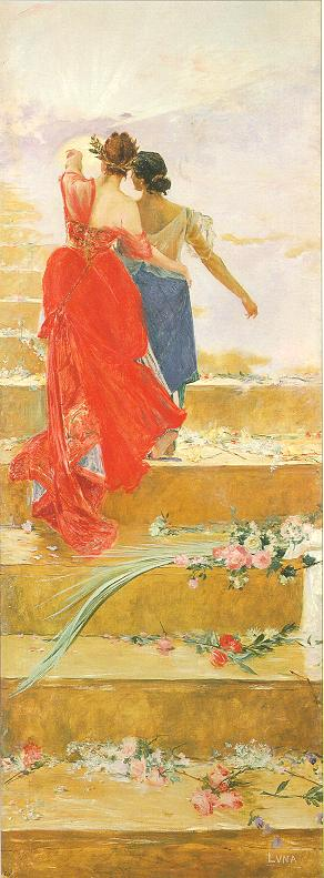 España y Filipinas (Juan Luna, 1886)