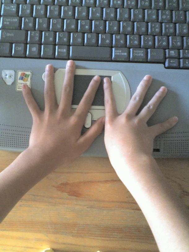 ¡Por hoy mi hija tiene nueve dedos!