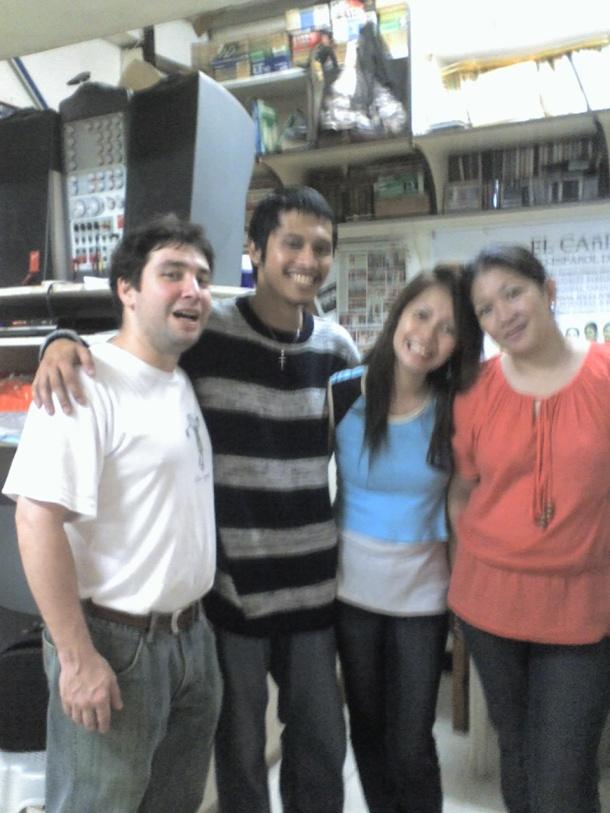 Guillermo Gómez Ordóñez, Me, Yeyette, and Venus Gómez