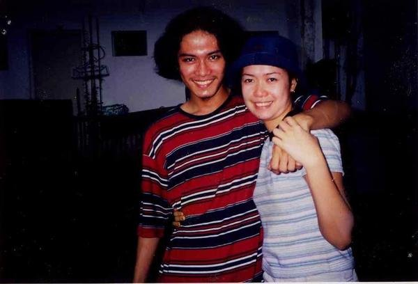 Our first photo together when we were still in college (circa 1999).