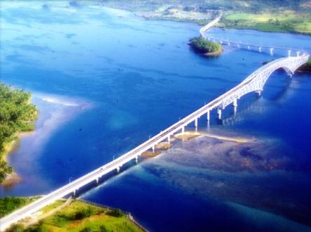The longest bridge in the Philippines