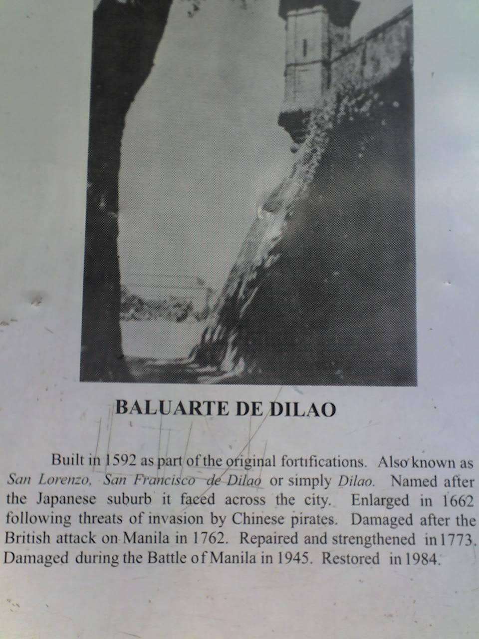 BALUARTE DE DILÁO