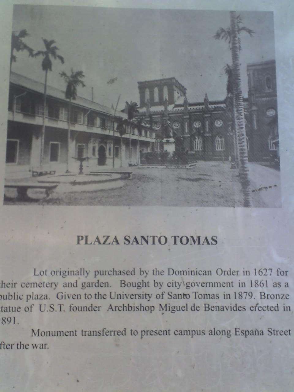 PLAZA DE SANTO TOMÁS