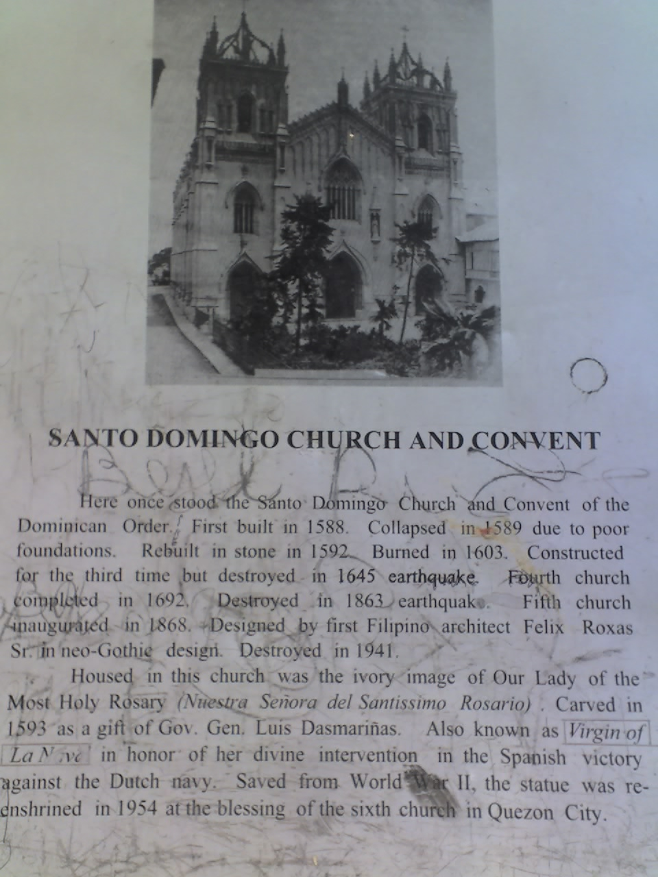 SANTO DOMINGO CHURCH AND CONVENT