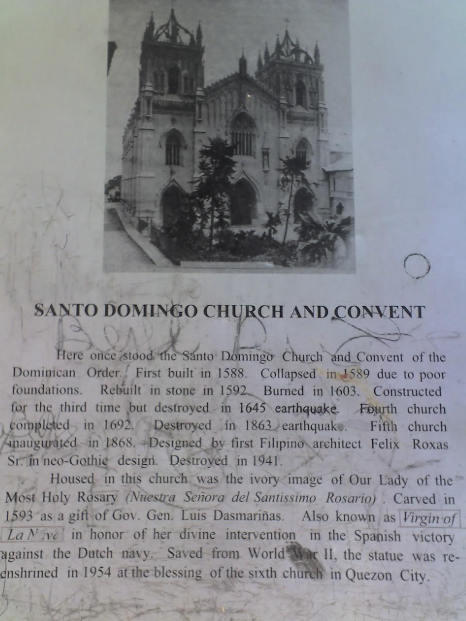 SANTO DOMINGO CHURCH AND CONVENT