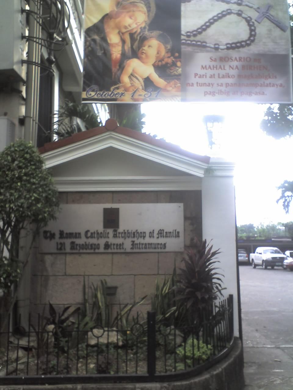 THE ROMAN CATHOLIC ARCHBISHOP OF MANILA
