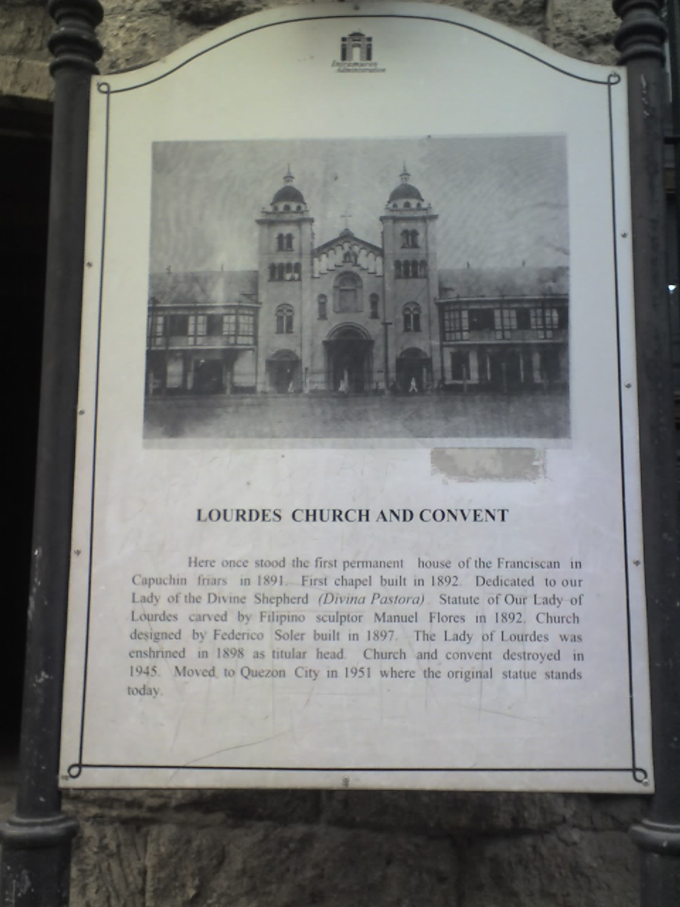 LOURDES CHURCH AND CONVENT
