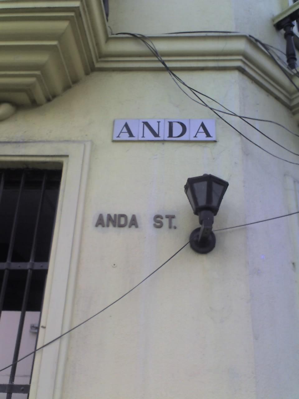 ANDA STREET