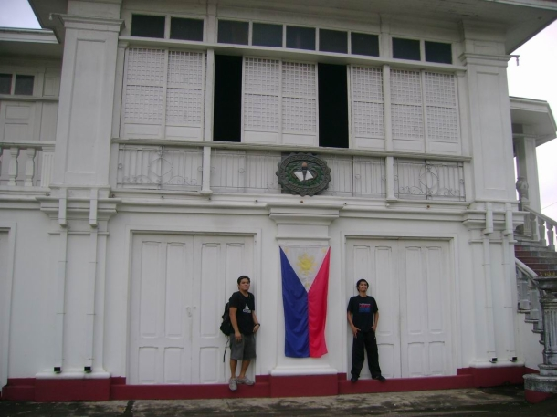 The ancestral home of Don Gregorio R. Agoncillo.