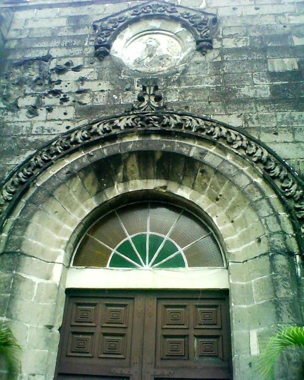 A side entrance.