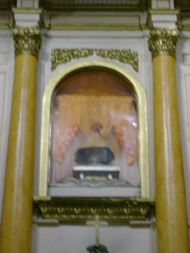 The historic and miraculous image of Our Lady of Caysasay.
