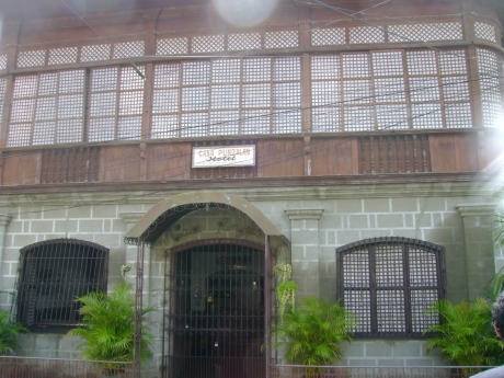 An 18th-century house converted into a small hotel under the auspices of the Taal Heritage Foundation.
