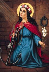 ST. PHILOMENA OF CORFU, GREECE