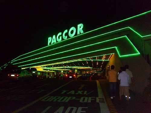 PAGCOR in my hometown of Ciudad de Parañaque.